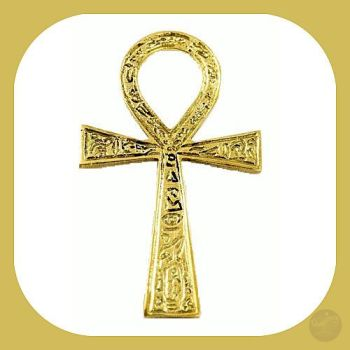 Brass Ankh Ritual Items Mystical Moons