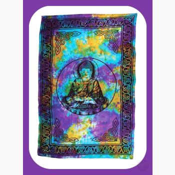 Buddha Tapestry Mystical Moons