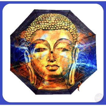 Buddha Umbrella Mystical Moons