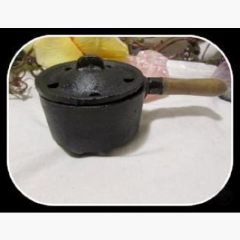 Cast Iron Cauldron Herb Incense Burner Cauldrons Mystical Moons
