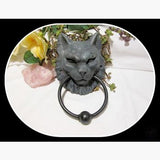 Cat Gargoyle Door Knocker Mystical Moons