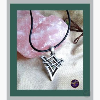 Celtic Arrow Necklace Mystical Moons