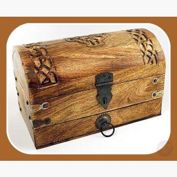 Celtic Cross Treasure Chest Mystical Moons