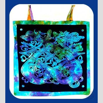Celtic Dragon Tote Bag Bags Mystical Moons
