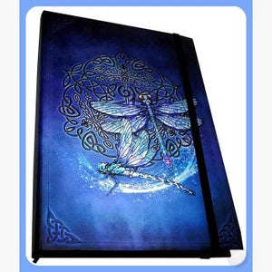 Celtic Dragonfly Journal Mystical Moons