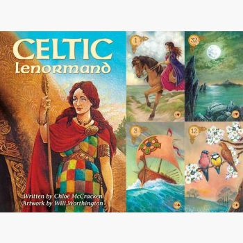 Celtic Lenormand Tarot Cards Mystical Moons