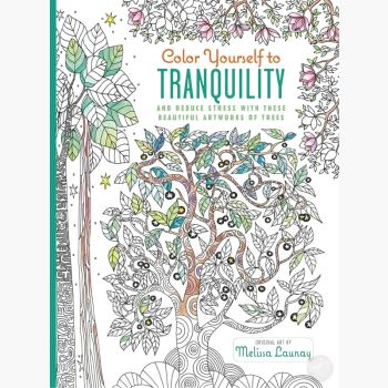 Color Yourself To Tranquility Books Mystical Moons