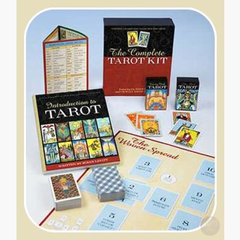Complete Tarot Kit Deck & Book Cards Mystical Moons