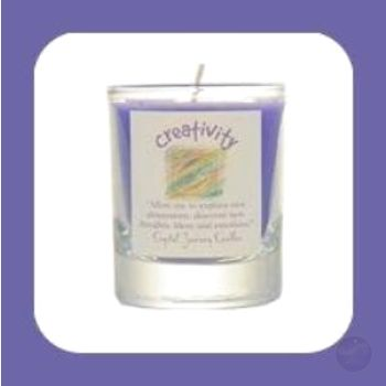 Creativity Soy Votive Candle Candles Mystical Moons