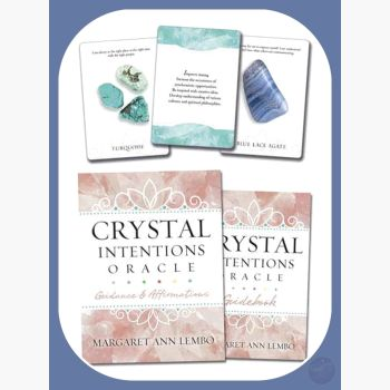 Crystal Intentions Oracle Tarot Cards Mystical Moons