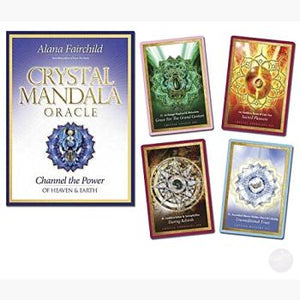 Crystal Mandala Oracle Tarot Cards Mystical Moons