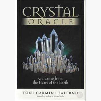 Crystal Oracle Deck & Book Tarot Cards Mystical Moons