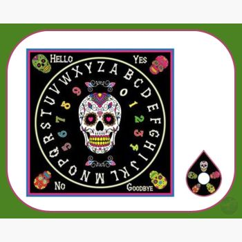 Day Of Dead Spirit Board Boards Mystical Moons