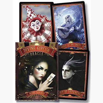 Divine Circus Oracle Tarot Cards Mystical Moons