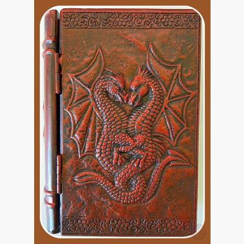 Double Dragon Book Keepsake Box Mystical Moons
