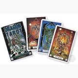 Dragon Tarot Deck Cards Mystical Moons