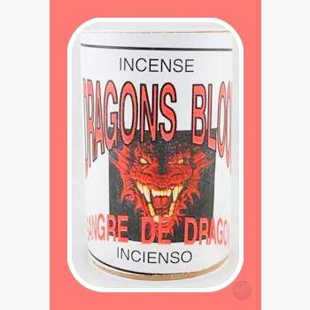 Dragons Blood Self-Lighting Incense Powder Mystical Moons