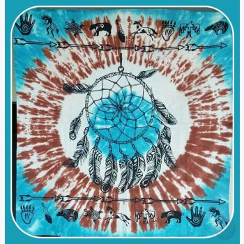 Dreamcatcher Altar Cloth Mystical Moons