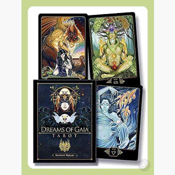 Dreams Of Gaia Deck & Book Tarot Cards Mystical Moons
