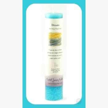 Dreams Reiki Charged Pillar Candle Candles Mystical Moons