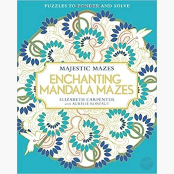 Enchanting Mandala Mazes Coloring Book Books Mystical Moons