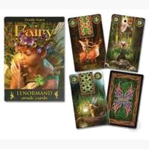 Fairy Lenormand Oracle Tarot Cards Mystical Moons