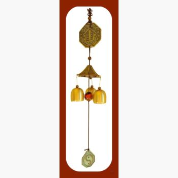 Feng Shui Wind Chime Mystical Moons