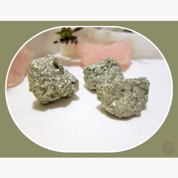 Fools Gold Pyrite Set Stone Sets Mystical Moons