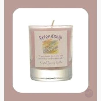 Friendship Soy Votive Candle Candles Mystical Moons