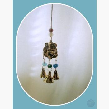 Ganesh Bell Wind Chime Mystical Moons