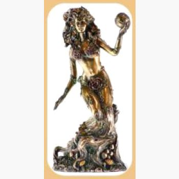 Goddess Gaia - Earth Mother Statue Mystical Moons