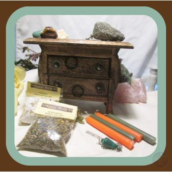 Granny's Hand Me Down Pendulum Money Draw Cupboard Kits Mystical Moons