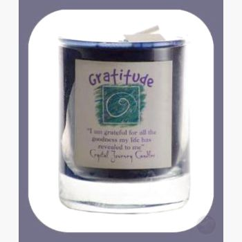 Gratitude Soy Votive Candle Candles Mystical Moons