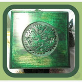 Greenman Altar Table Mystical Moons