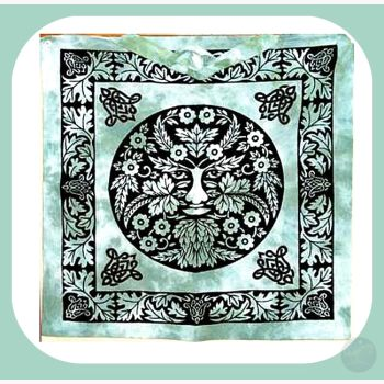 Greenman Tote Bag Bags Mystical Moons