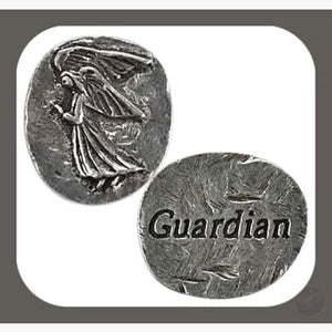 Guardian Angel Pocket Worry Wish Stone Collection Stones Mystical Moons