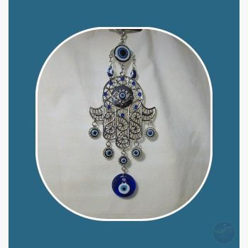 Hamsa Evil Eye Hanging Mystical Moons