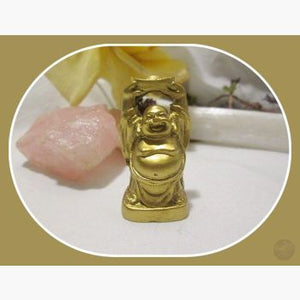 Happy Prosperity & Fortune Buddha Statue Mystical Moons
