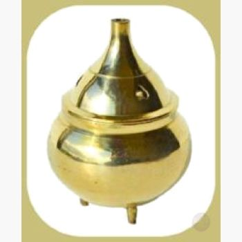 Heart Brass Burner Incense Mystical Moons