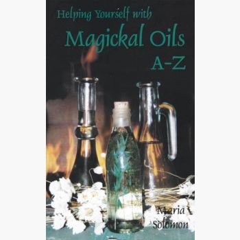 Helping Yourself With Magickal Oils A - Z Books Mystical Moons