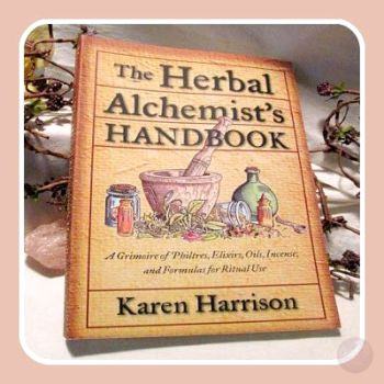 Herbal Alchemist's Handbook Books Mystical Moons