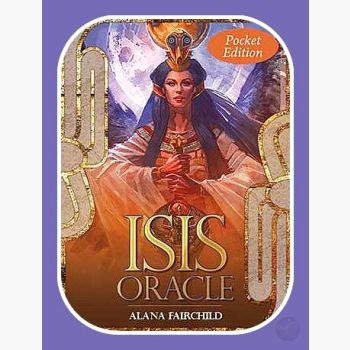 Isis Oracle Pocket Tarot Cards Mystical Moons