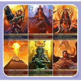 Isis Oracle Tarot Cards Mystical Moons