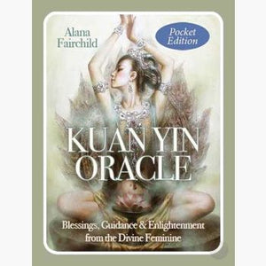 Kuan Yin Pocket Oracle Tarot Cards Mystical Moons