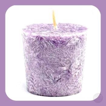 Lavender Palm Oil Votive Candle Candles Mystical Moons