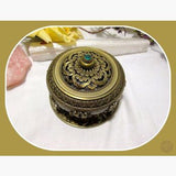 Lotus Incense Burner Holder Mystical Moons