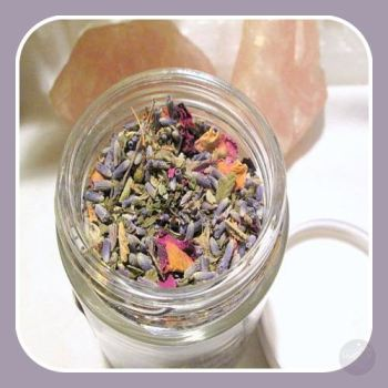 Love & Attraction- Herbs, Oils, Incense & Bath Mix – Mystical Moons
