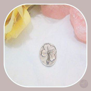 Lucky Clover Pocket Stone Stones Mystical Moons
