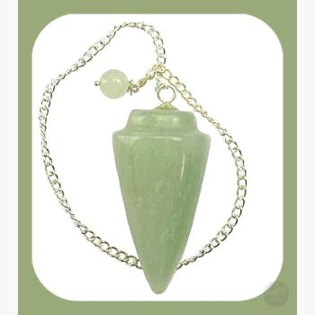 Lucky Green Aventurine Pendulum Mystical Moons