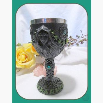 Maiden Mother & Crone Chalice Chalices Mystical Moons